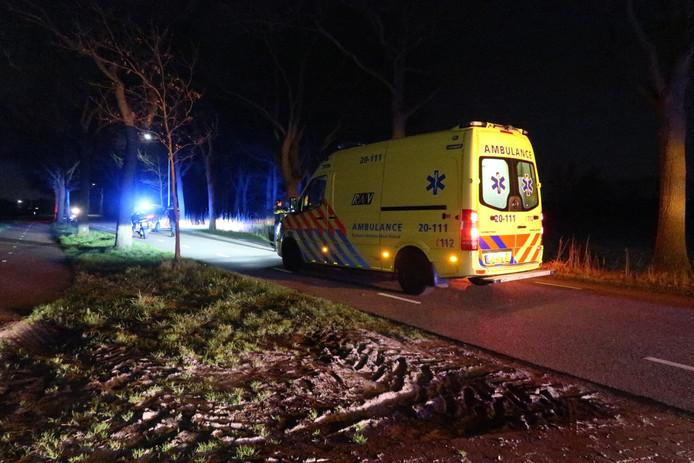 Ongeluk Etten-Leur, meerdere mensen gewond.