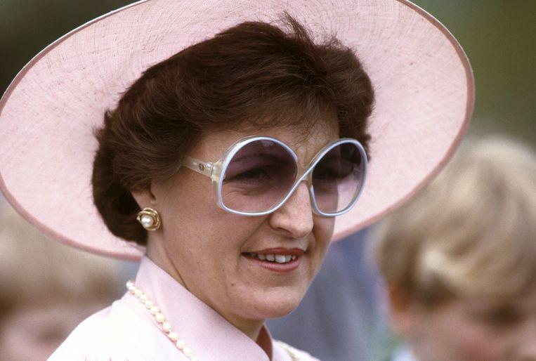 Prinses Margriet tijdens de viering van Koninginnedag in Vaassen (1983) Beeld ANP