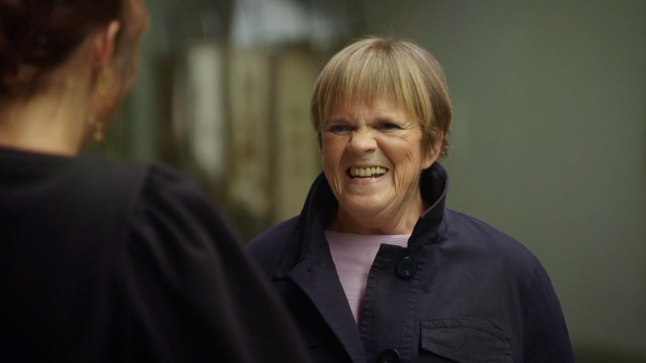 Margriet Hermans in 'Stukken van Mensen'.