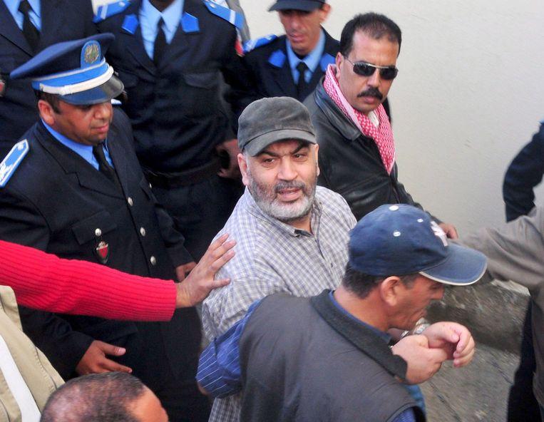 De Marokkaanse Belg Abdelkader Belliraj in februari 2008. Beeld EPA