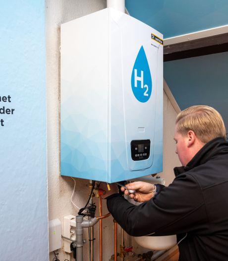 Oudere woning beter te verwarmen met waterstofketel dan met warmtepomp