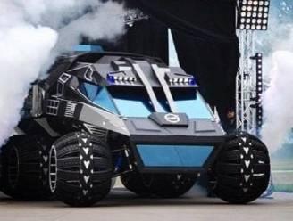 Net de Batmobiel: NASA onthult Mars rover-prototype dat mensen kan vervoeren