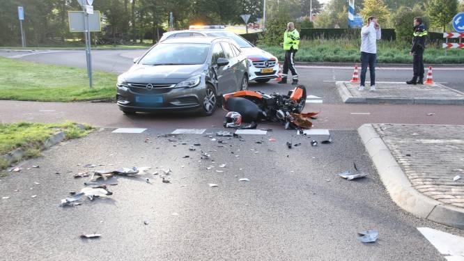Scooterrijder gewond bij ongeval in Wierden