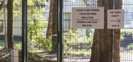 Landgoed Pijnenburg definitief afgesloten voor fietsers en andere tweewielers