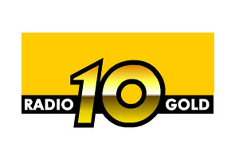 Logo Radio 10 Gold (screenshot radio10gold.nl) Beeld
