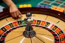 Foto ter illustratie. Het casino in Bad Bentheim stopt met de roulettetafel en blackjack.