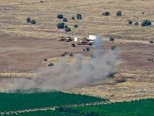 Israël bestookt legerinstallaties Syrië
