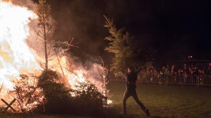 Scouts van Landen besluit na 33 jaar te stoppen met de kerstboomverbranding om ecologische reden