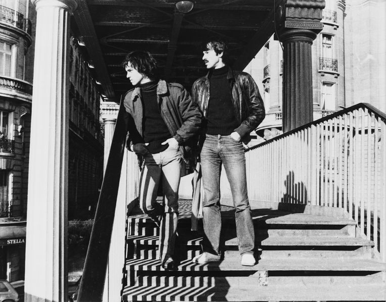 Versweyveld en Van Hove in Parijs, 1980. Beeld RV