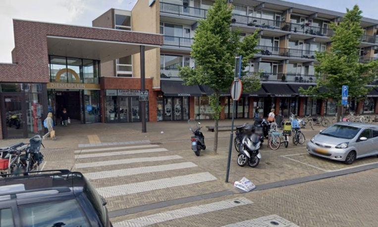 Het Diemerplein. Beeld Google Streetview