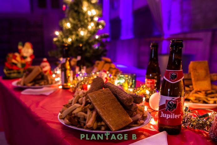 Kerstdiner bij Plantage B.