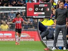 PSV was niet klaar voor Feyenoord: 'Trainer die verliest, heeft geen argumenten en geen verhaal'