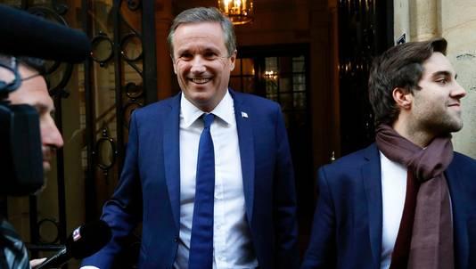 Nicolas Dupont-Aignan sera Premier ministre si Marine Le Pen est élue.