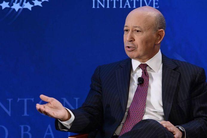 Topman Lloyd C. Blankfein van zakenbank Goldman Sachs rechtvaardigde zijn bonus van tientallen miljoenen dollars met de uitspraak dat hij 'het werk van God deed'.