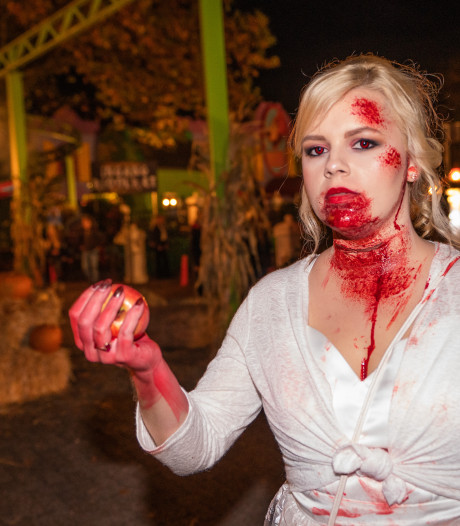Horrorfeest in Hellendoorn een succes: 'Je voelt de angst in hun lijf'