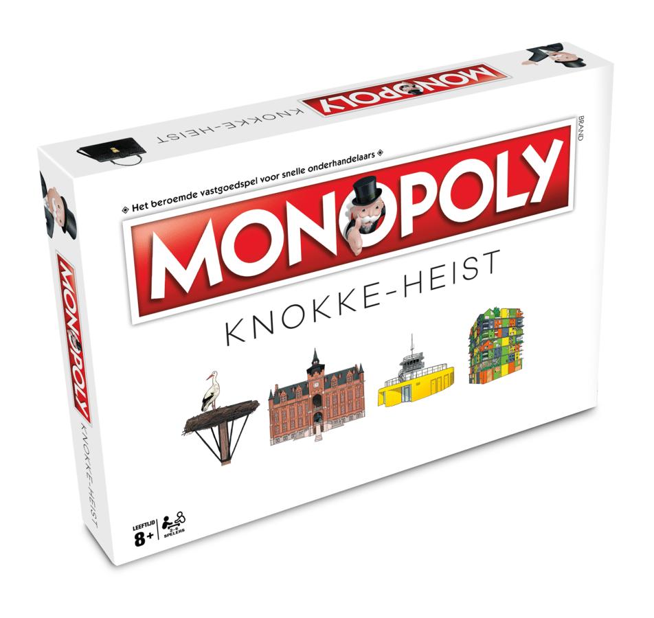 Knokke-Heist heeft nu zelf een Monopoly-spel.