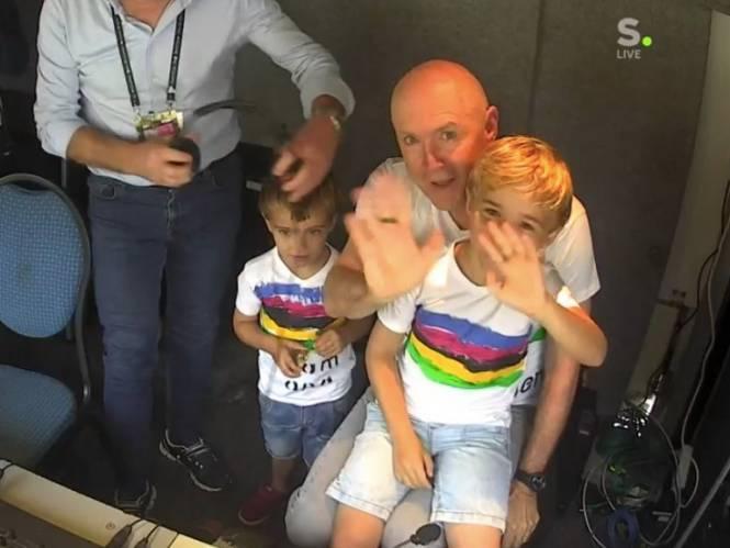 """INTERVIEW. Michel Wuyts werd op WK wielrennen als rockheld toegejuicht: """"De verbittering is aan het wegsijpelen"""""""