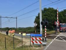 Treinverkeer tussen Meppel en Leeuwarden weer op gang na bermbrand