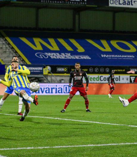 RKC houdt pover Feyenoord in eigen huis op gelijkspel na vermakelijke tweede helft