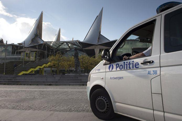 Het justitiepaleis van Antwerpen.