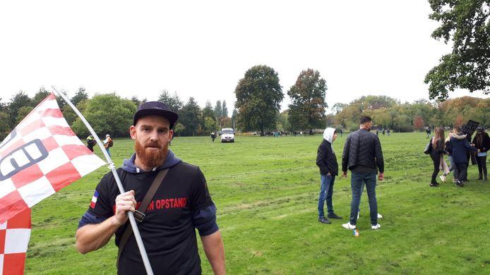 Organisator Sander van 'Brabant in Opstand'.