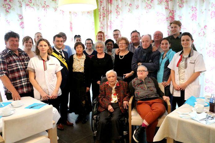 Bertha vierde haar 101ste verjaardag