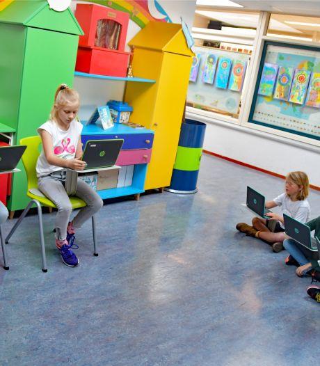 Leerlingen De Schuttershoek in IJzendijke gedijen bij nieuwe vorm van onderwijs