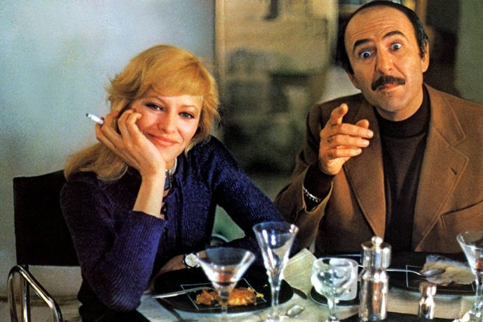 Nathalie Delon in de film 'Sex Shop' in 1971.