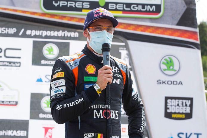 Vainqueur du rallye d'Ypres en juin, Thierry Neuville espère enchaîner en Grèce.