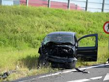Gewonden bij ongeluk oprit A58 bij Breda