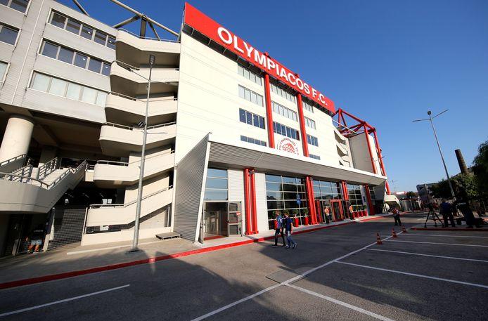 Het Karaiskakis Stadion van Olympiakos.