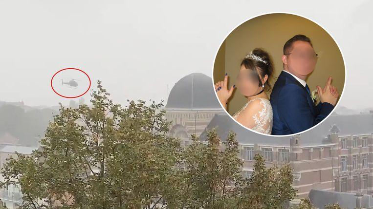 Mike G. kaapte de helikopter om te proberen zijn vrouw Kristel A. uit de gevangenis te bevrijden. Beeld rv