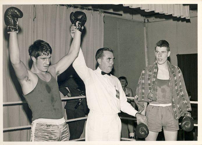 Harry Tabben kampioen van de halfzwaargewichten