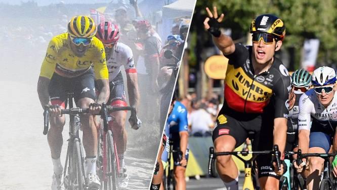 Meteen kans op geel voor Van Aert en een mini-Parijs Roubaix: zo zou de Tour de France 2022 eruitzien