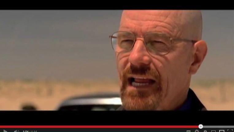 Still van Bryan Cranston als Walter White Beeld YouTube