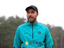Christian Eriksen bezoekt trainingscentrum Inter: 'Hij voelt zich fysiek en mentaal erg goed'