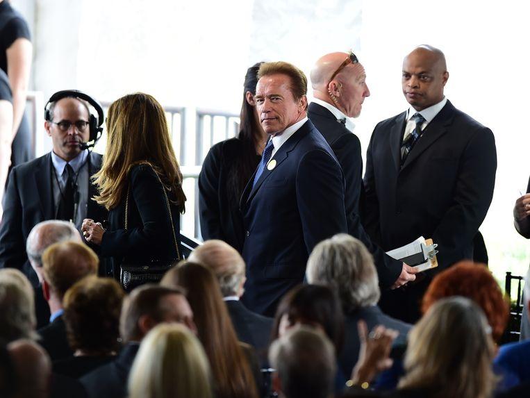 Acteur Arnold Schwarzenegger. Beeld AFP