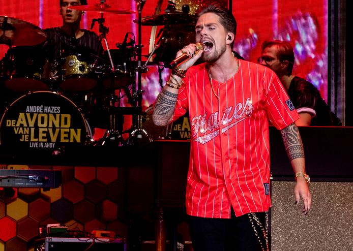 André Hazes is één van de toppers tijdens de jubileumeditie van Rockanje Live