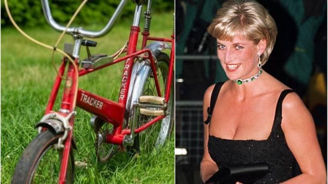 Kinderfiets van Diana wordt geveild voor enorme som geld