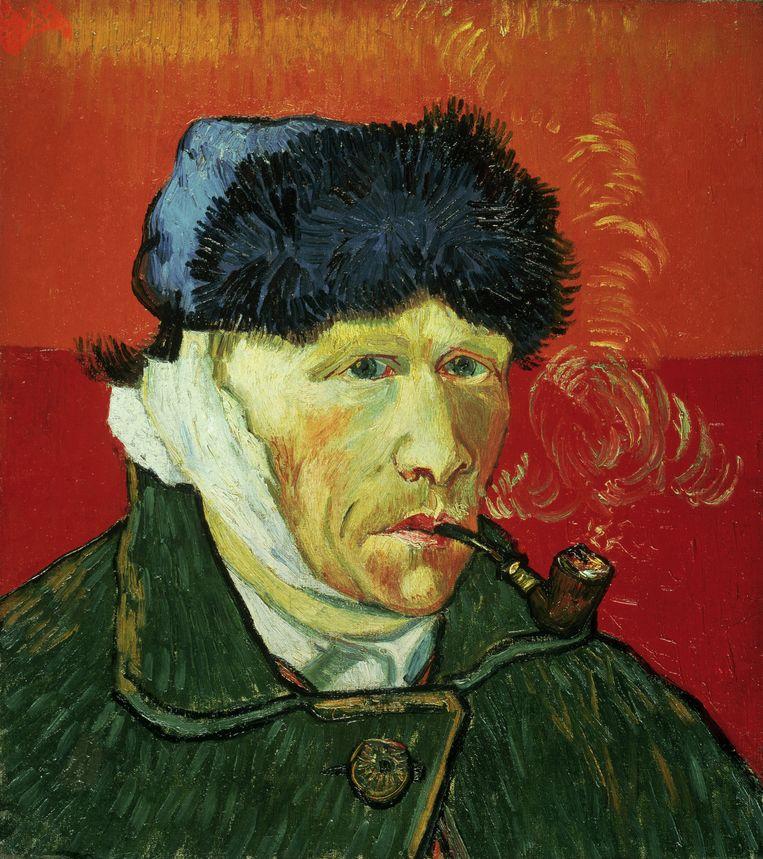 Vincent Van Gogh, zelfportret Beeld BELGAIMAGE