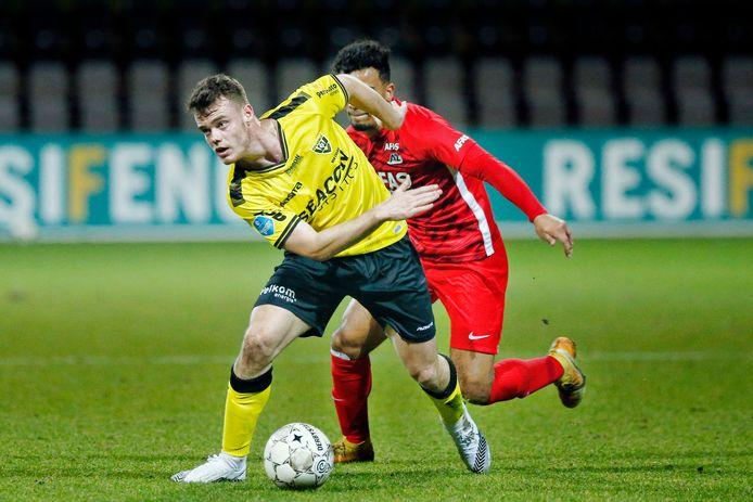 Vito van Crooij is dit seizoen al goed voor 2 doelpunten en 6 assists.