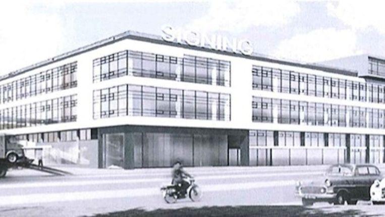 Een impressie van het Noordgebouw na de renovatie. Beeld Rijnboutt