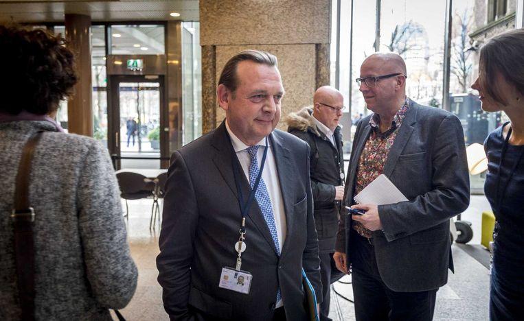 Nationale Ombudsman Reinier van Zutphen komt woensdag aan voor de commissievergadering over de vacatures voor substituut-ombudsmannen. Beeld anp