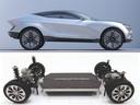 Het toekomstige productiemodel van het Kia 'Futuron' studiemodel (boven) is één van de auto's op het nieuwe E-GMP platform van Hyundai
