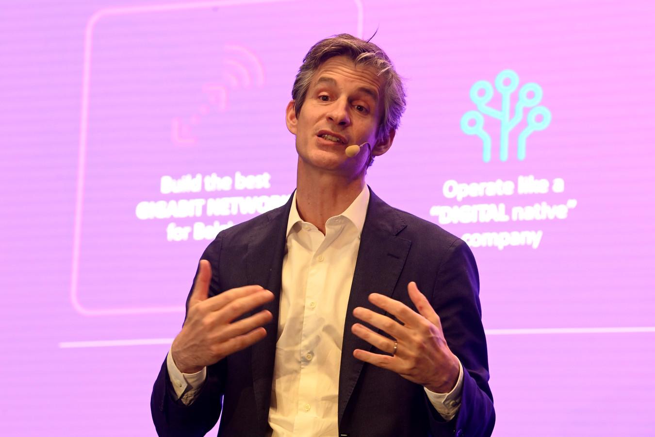 Guillaume Boutin, le CEO de Proximus.
