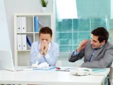 De baas vindt dat we ons best wat sneller ziek mogen melden