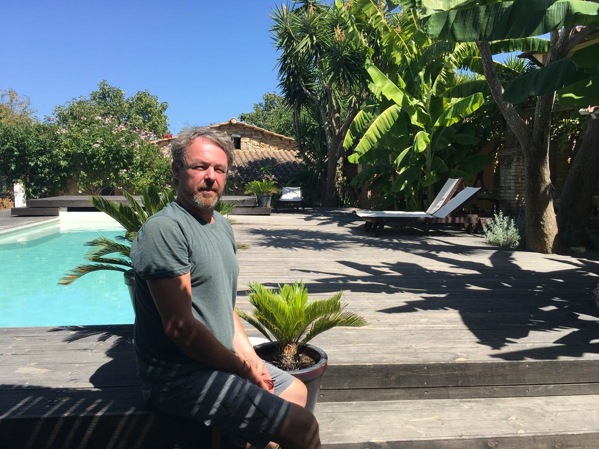 Christophe Janssens (51) baat een B&B uit op het Griekse eiland Zakynthos.