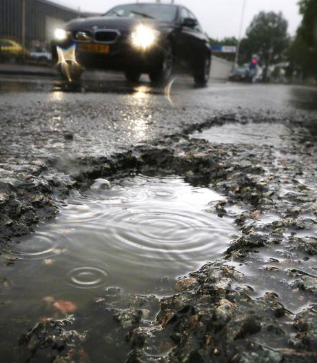 Bredase wegen slijten sneller door hogere temperaturen