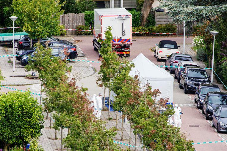 Advocaat Derk Wiersum werd neergeschoten op Imstenrade in Buitenveldert. Beeld Maarten Brante