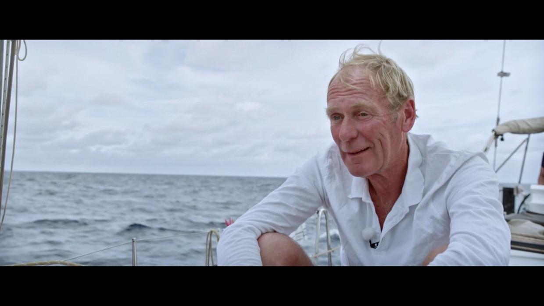 Piet Smet was blij om nog eens langere tijd op zee door te brengen. Beeld RV SBS